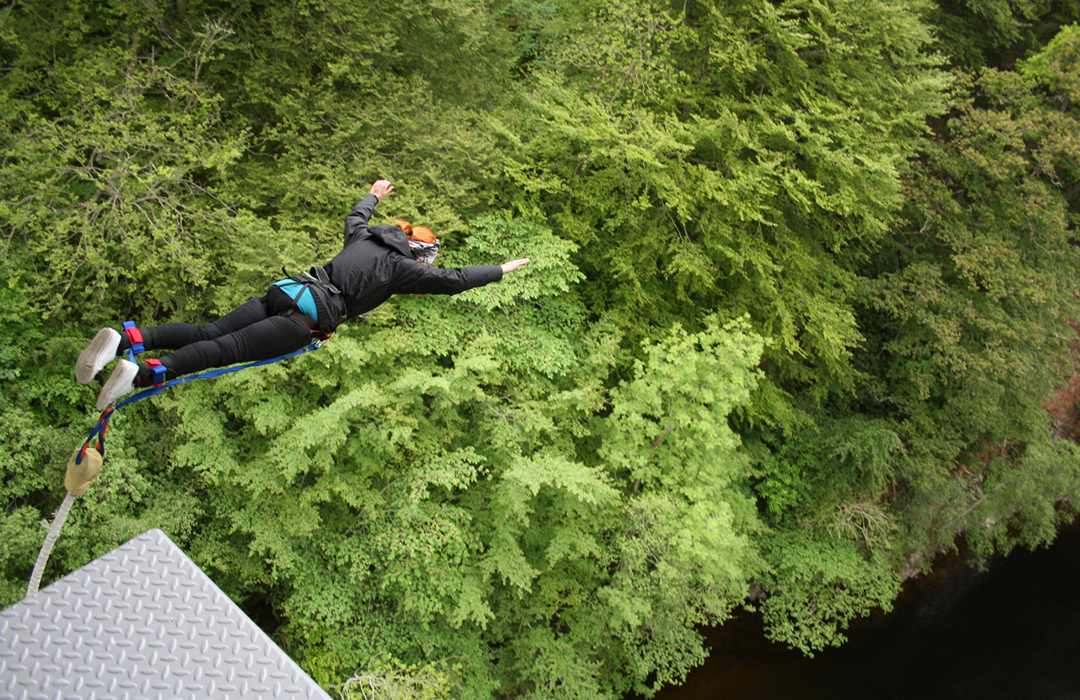 Bungee Jumping Experience Gift Scotland