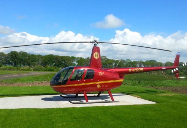 Helicopter Flying Lessons | Experience Gift Scotland